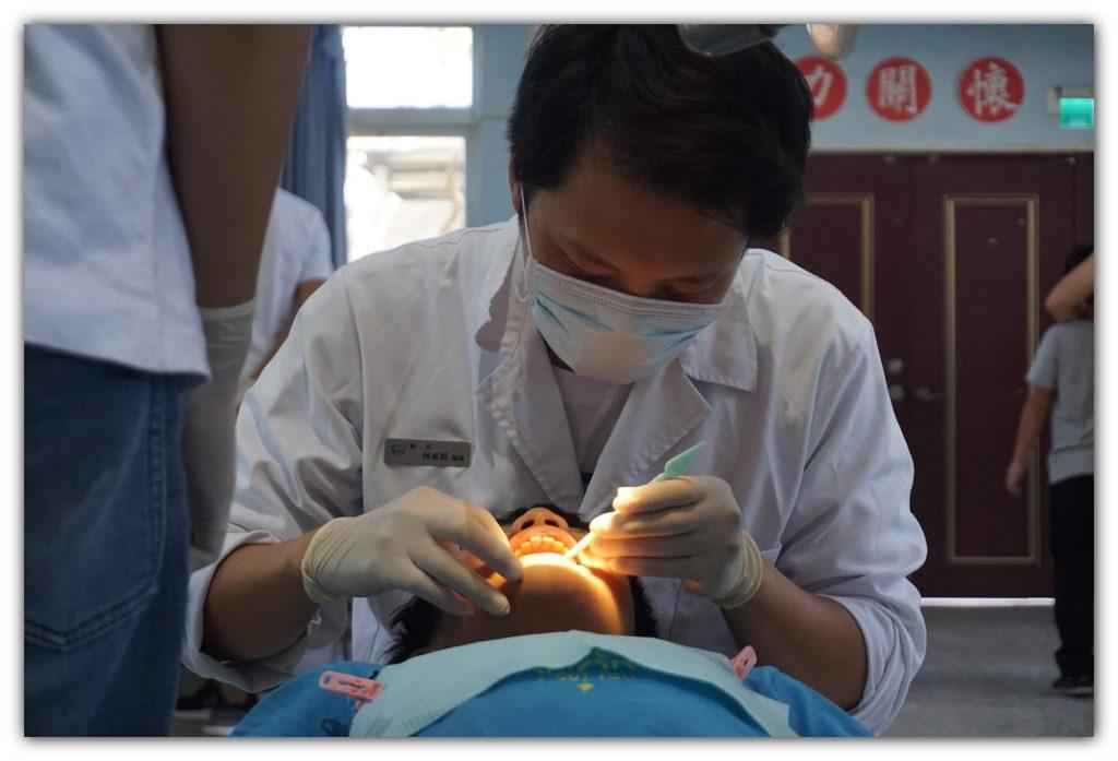 參與第三十七屆陽明大學口腔醫療衛生服務隊 博誠牙醫 何家銘醫師3