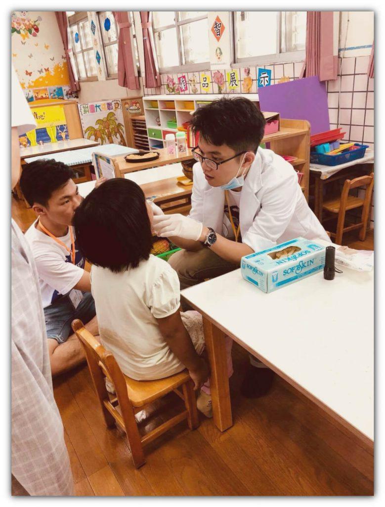 參與第三十七屆陽明大學口腔醫療衛生服務隊 博誠牙醫 鍾國耀醫師2