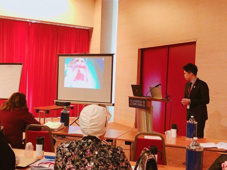 永和植牙專家│何家銘醫師遠赴義大利米蘭進行學術演講分享Profession Dental Clinic, Eric Ho 前牙植牙美學技術