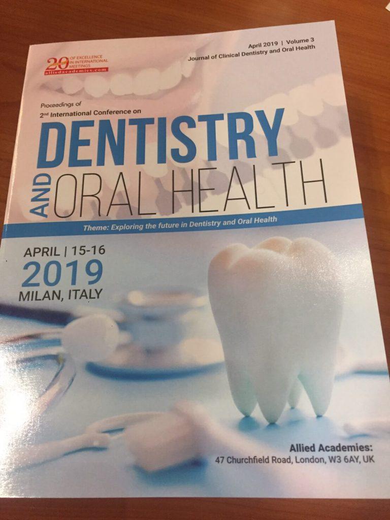 永和植牙專家│何家銘醫師遠赴義大利米蘭進行學術演講Profession Dental Clinic, Eric Ho